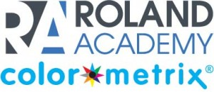 Image or Roland Academy ColorMetrix partner series webinar