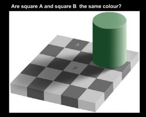 image of color illusion