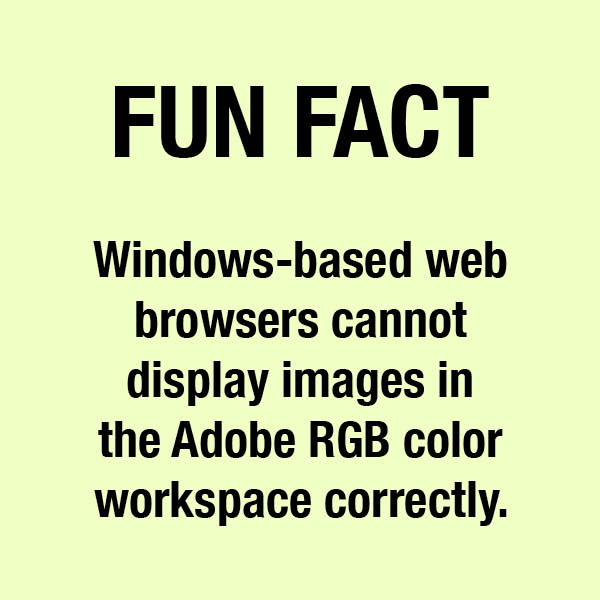 Image of fun fact Adobe RGB