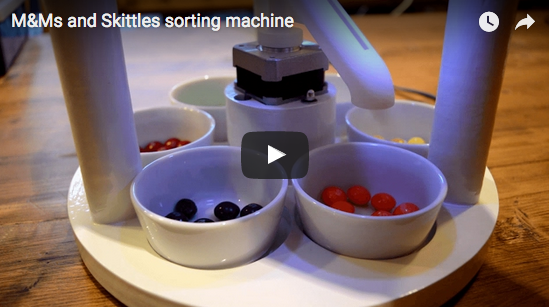 Image of Candy sorter machine